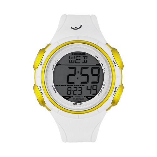 Head Men's Slalom Digital 50-Lap Chronograph Watch - HE-100-03