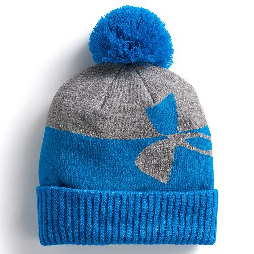 32c5b24f2b8 Boys Under Armour Pom Beanie