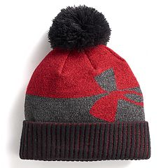 Boys Under Armour Pom Beanie