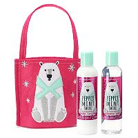 Simple Pleasures Peppermint Swirl Body Lotion & Shower Gel Gift Set