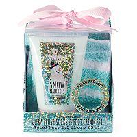 Simple Pleasures Ultra Plush Socks & Snow Flurries Foot Cream Set