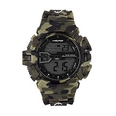 Head Men's Half Pipe Camouflage Digital Chronograph Watch - HE-106-02