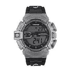Head Men's Half Pipe Two Tone Digital Chronograph Watch - HE-106-04