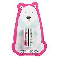 Simple Pleasures Scented Lip Balm Polar Bear 2-Pack