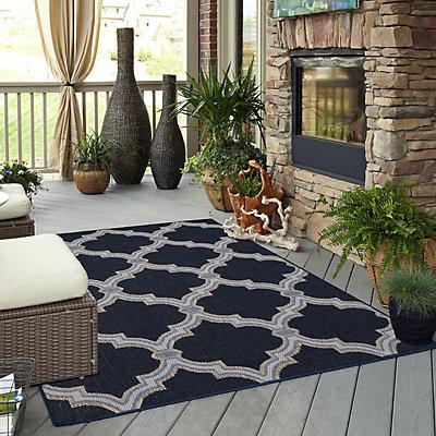 Mohawk® Home Intrepid Trellis Indoor Outdoor Rug