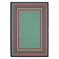 Mohawk® Home Multi Stripe Framed Indoor Outdoor Rug