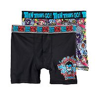 Boys 6-10 Teen Titans 2-Pack Boxer Briefs