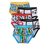 Boys 4-8 Lego Ninjago 5-Pack Briefs