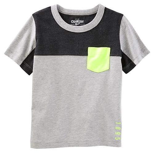 Boys 4-12 OshKosh B'gosh® Colorblock Pocket Tee