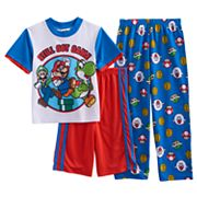 Boys 6-12 Super Mario Bros. 3 pc Pajama