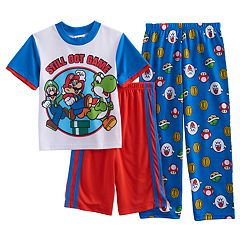 Boys 6-12 Super Mario Bros. 3-Piece Pajama