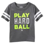 "Boys 4-12 OshKosh B'gosh® ""Play Hard Ball"" Baseball Tee"