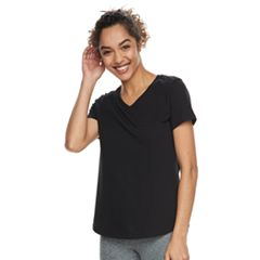 Women's Tek Gear® Nep Jersey Short Sleeve Tee