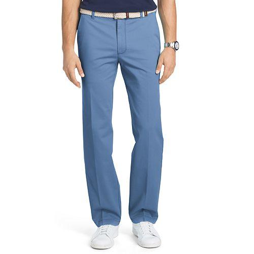 Men's IZOD Straight-Fit Performance Plus Flat-Front Chino Pants