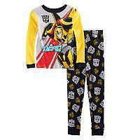 Boys 4-10 Transformers 2-Piece Pajama Set