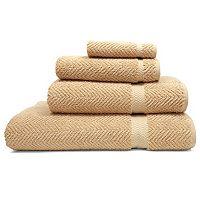 Linum Home Textiles Herringbone 4 pc Bath Towel Set