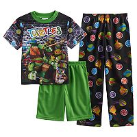 Boys 4-10 Teenage Mutant Ninja Turtle 3-Piece Pajama Set