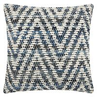 Mina Victory Lifestyles Woven Chevron Throw Pillow