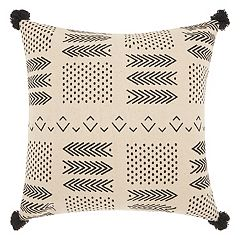 Mina Victory Lifestyles Small Arrows & Dots Throw Pillow
