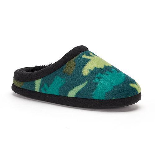 Boys 4-20 Climatesmart  Dinosaur Clog Slippers