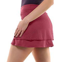 Women's Soybu Ap Lace Overlay Tennis Skort