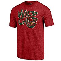 Men's Majestic Minnesota Wild Wild Child Tee