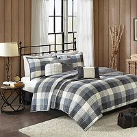 Madison Park 6-piece Pioneer Herringbone Coverlet Set