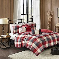Madison Park 6 pc Pioneer Herringbone Coverlet Set