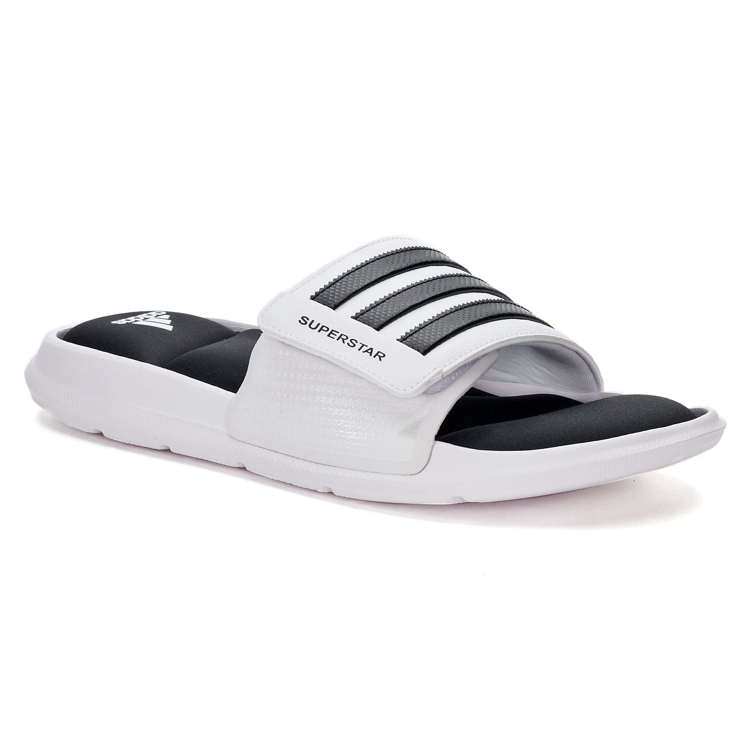 adidas Superstar 3G Men\u0027s Slide Sandals