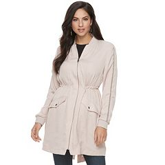 Women's Jennifer Lopez Embellished Anorak Jacket