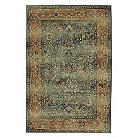 Mohawk® Home Studio Aksel EverStrand Framed Floral Rug