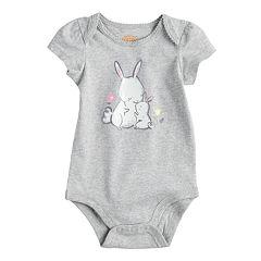 Baby Girl Jumping Beans® Print Softest Bodysuit