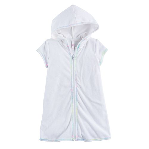 Girls 4-16 SO® White Terry Cover-Up