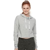 Juniors' SO® Cropped Raglan Hoodie
