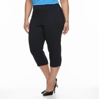 Plus Size Dana Buchman Millennium Pull-On Capris