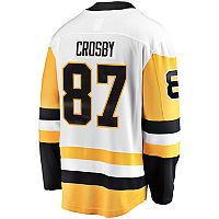 Men's Majestic Pittsburgh Penguins Sidney Crosby Breakaway Jersey