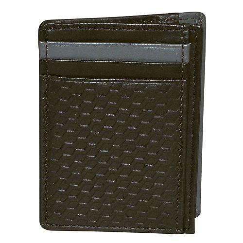 Buxton Bellamy RFID-Blocking Front-Pocket Get-Away Wallet