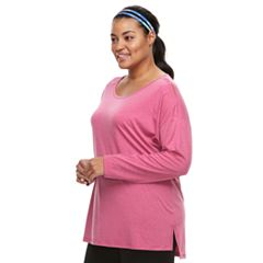 Plus Size Tek Gear® Cutout-Shoulder Tee
