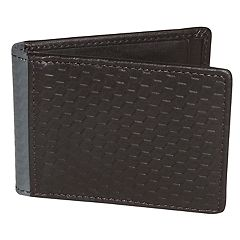 Buxton Bellamy RFID-Blocking Front-Pocket Flip Wallet