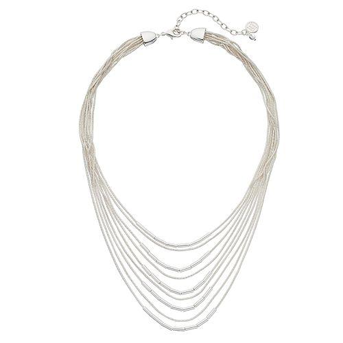 Dana Buchman Cobra Chain Layered Necklace