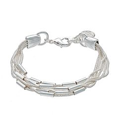 Dana Buchman Cobra Chain Multi Strand Bracelet