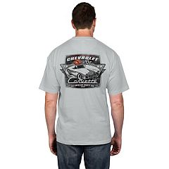 Men's Newport Blue Corvette Graphic Tee