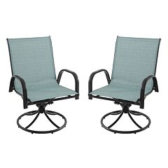 SONOMA Goods for Life™ Coronado Patio Swivel Chair 2-piece Set