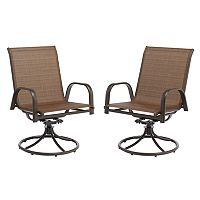 SONOMA Goods for Life™ Coronado Patio Swivel Chair 2 pc Set