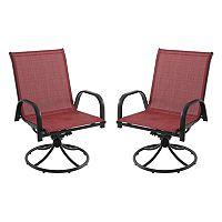 SONOMA Goods for Life™ Coronado Patio Swivel Chair 2-piece Set