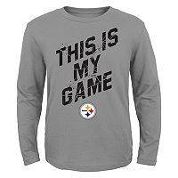 Boys 4-7 Pittsburgh Steelers My Game Tee