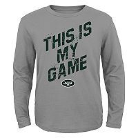 Boys 4-7 New York Jets My Game Tee