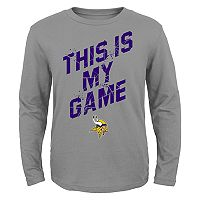 Boys 4-7 Minnesota Vikings My Game Tee