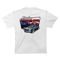 Big & Tall Newport Blue Corvette Graphic Tee