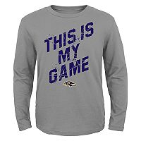 Boys 4-7 Baltimore Ravens My Game Tee